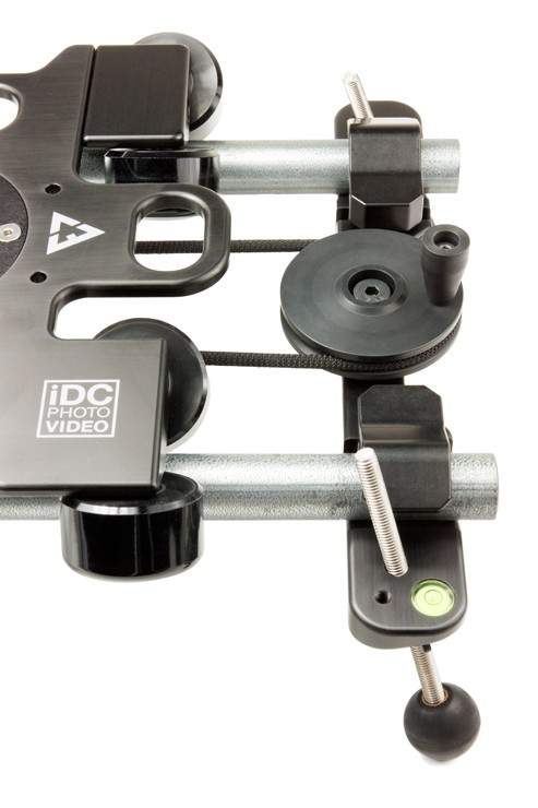 Top View of Shockless Drive Control Crank